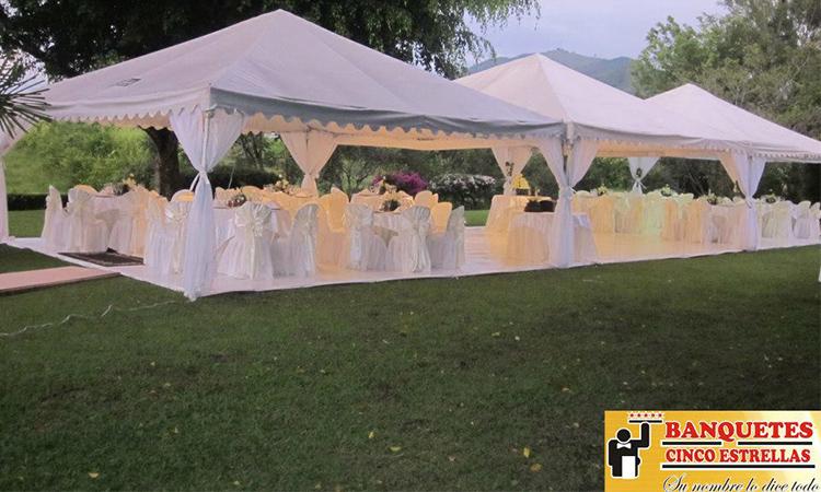 Banquetes Cinco Estrellas