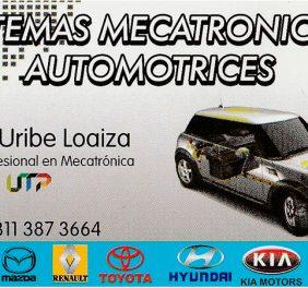 Sistemas Mecatronicos Automotrices