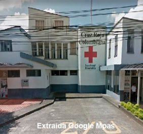 Cruz roja colombiana Pereira