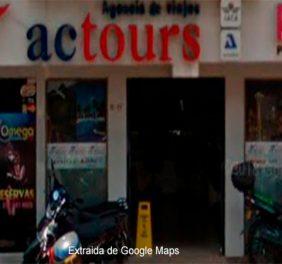 Agencia de viajes Actours