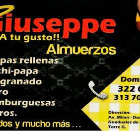 Giuseppe A tu gusto !!