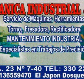 Mecanica Industrial ...